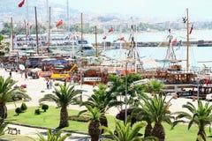 Λιμάνι Alanya Στοκ Φωτογραφίες