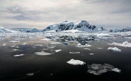 Λιμάνι Antartica παραδείσου Στοκ Εικόνες