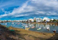 Λιμάνι Arrecife Lanzarote Στοκ εικόνα με δικαίωμα ελεύθερης χρήσης