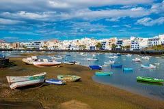 Λιμάνι Arrecife Lanzarote Στοκ Φωτογραφίες