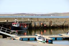 Λιμάνι Bowmore, νησί Islay, Σκωτία Στοκ εικόνα με δικαίωμα ελεύθερης χρήσης