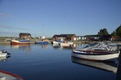 Λιμάνι Hörvik, Σουηδία Στοκ εικόνες με δικαίωμα ελεύθερης χρήσης