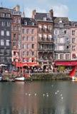 Λιμάνι Honfleur στη Νορμανδία. Γαλλία. Στοκ εικόνα με δικαίωμα ελεύθερης χρήσης