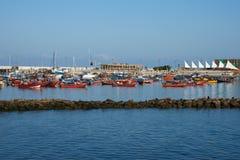 Λιμάνι Iquique στοκ φωτογραφία με δικαίωμα ελεύθερης χρήσης