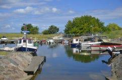 Λιμάνι Kivik, Σουηδία Στοκ φωτογραφία με δικαίωμα ελεύθερης χρήσης