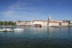 λιμάνι krk Στοκ εικόνες με δικαίωμα ελεύθερης χρήσης