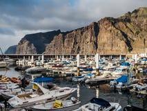 Λιμάνι Los Gigantes Στοκ εικόνες με δικαίωμα ελεύθερης χρήσης
