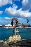 Λιμάνι Los Marmoles, Arrecife Στοκ φωτογραφίες με δικαίωμα ελεύθερης χρήσης