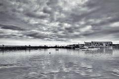Λιμάνι Lyme REGIS - Ιανουάριος στοκ εικόνα με δικαίωμα ελεύθερης χρήσης