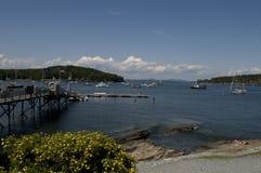 λιμάνι Maine ράβδων Στοκ Φωτογραφία