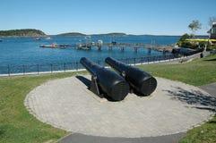 λιμάνι Maine ράβδων Στοκ φωτογραφία με δικαίωμα ελεύθερης χρήσης