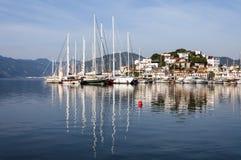 Λιμάνι Marmaris, Τουρκία Στοκ εικόνα με δικαίωμα ελεύθερης χρήσης