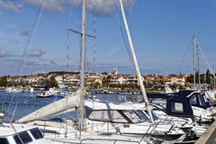 Λιμάνι Medulin Στοκ φωτογραφία με δικαίωμα ελεύθερης χρήσης