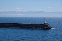 λιμάνι misty Στοκ φωτογραφία με δικαίωμα ελεύθερης χρήσης