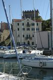Λιμάνι Muggia στοκ φωτογραφία