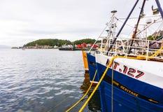 Λιμάνι Oban, Oban, Argyle, Σκωτία 28 Αυγούστου 2015 Στοκ Εικόνα