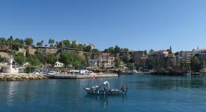 Λιμάνι Oldtown σε Antalya, Τουρκία Στοκ φωτογραφία με δικαίωμα ελεύθερης χρήσης