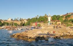 Λιμάνι Oldtown σε Antalya, Kaleici στην Τουρκία Στοκ εικόνες με δικαίωμα ελεύθερης χρήσης