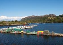 Λιμάνι Plockton, Σκωτία Στοκ Εικόνες