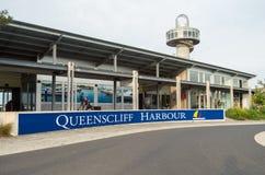 Λιμάνι Queenscliff στην Αυστραλία Στοκ φωτογραφία με δικαίωμα ελεύθερης χρήσης