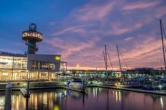 Λιμάνι Queenscliff στην Αυστραλία Στοκ εικόνα με δικαίωμα ελεύθερης χρήσης