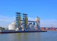 Λιμάνι sorel-Tracy Στοκ φωτογραφία με δικαίωμα ελεύθερης χρήσης
