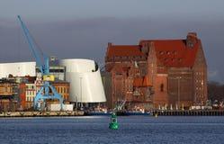 λιμάνι stralsund Στοκ φωτογραφία με δικαίωμα ελεύθερης χρήσης