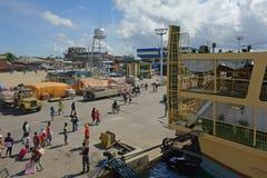 Λιμάνι Surigao Στοκ εικόνα με δικαίωμα ελεύθερης χρήσης