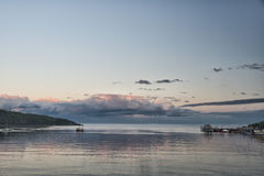 Λιμάνι Tadoussac Στοκ Εικόνα