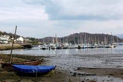 Λιμάνι Tarbert, δυτική λίμνη Tarbert, Σκωτία Στοκ Φωτογραφία