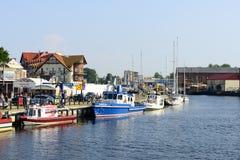 Λιμάνι Ustka Στοκ Φωτογραφία