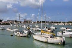 Λιμένας Άγιος-Gilles-Croix-de-Vie στη Γαλλία στοκ εικόνες με δικαίωμα ελεύθερης χρήσης