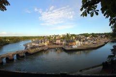 Λιμένας Αγίου Goustan, Auray Στοκ φωτογραφία με δικαίωμα ελεύθερης χρήσης