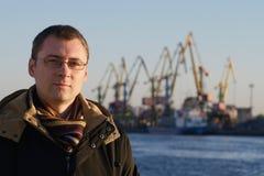 λιμένας ατόμων Στοκ εικόνα με δικαίωμα ελεύθερης χρήσης