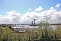 Λιμένας βαθιά νερών νότιων ασπίδων Στοκ φωτογραφία με δικαίωμα ελεύθερης χρήσης