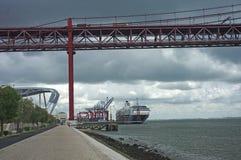 λιμένας γεφυρών Στοκ Εικόνες