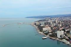 Λιμένας θαλάσσιου εμπορίου του Sochi στοκ εικόνες με δικαίωμα ελεύθερης χρήσης