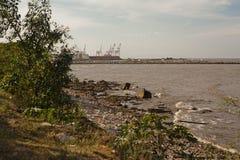 Λιμένας και επιφύλαξη Στοκ εικόνες με δικαίωμα ελεύθερης χρήσης