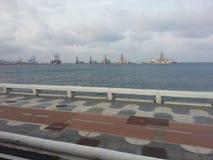Λιμένας Κανάριων νησιών προσοχής στο Las Palmas Στοκ Εικόνες