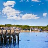 Λιμένας Μασαχουσέτη ΗΠΑ Provincetown βακαλάων ακρωτηρίων Στοκ Εικόνες