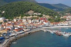 Λιμένας Πάργα Ελλάδα Στοκ Εικόνες