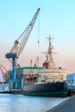 Λιμένας παγοθραυστών, σκάφος Στοκ Εικόνες