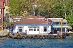Λιμένας πορθμείων Cengelkoy σε Bosphorus Στοκ φωτογραφίες με δικαίωμα ελεύθερης χρήσης