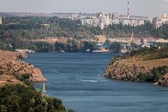 Λιμένας ποταμών Στοκ Εικόνες