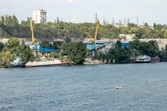 Λιμένας ποταμών Στοκ φωτογραφίες με δικαίωμα ελεύθερης χρήσης