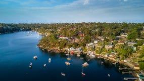 Λιμένας που χαράσσει την Αυστραλία Στοκ Φωτογραφία