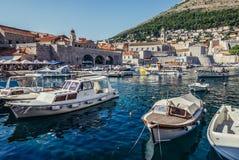 Λιμένας σε Dubrovnik Στοκ Φωτογραφία