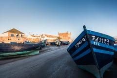 Λιμένας σε Essaouira Στοκ φωτογραφίες με δικαίωμα ελεύθερης χρήσης