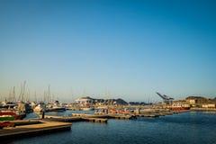Λιμένας σε Santa Marta, καραϊβική πόλη, βόρεια Στοκ εικόνες με δικαίωμα ελεύθερης χρήσης