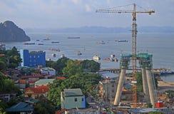 Λιμένας στη μακριά πόλη εκταρίου, Βιετνάμ Στοκ εικόνες με δικαίωμα ελεύθερης χρήσης